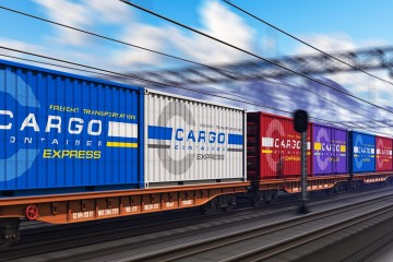 Eisenbahntransport